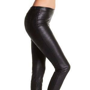 Blank NYC Faux Leather Vegan Pull On Leggings 28